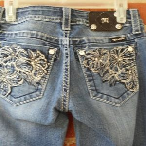 Miss me jeans jp5473f flare size 27